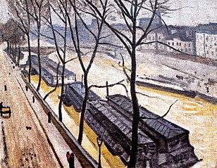 Paris in winter, Quay Bourbon