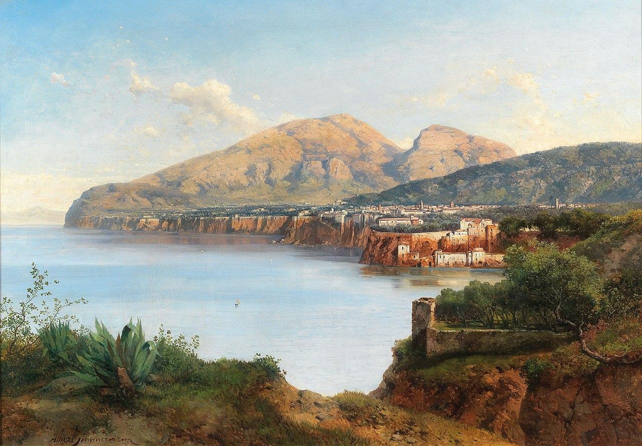 Albert Zimmermann - A view of Sorrento.jpg