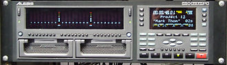 History of multitrack recording - The Alesis HD24 stand-alone multitrack hard disk recorder.