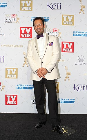 Alex Dimitriades - Dimitriades at the 2016 Logie Awards