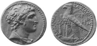 Seleucid Dynastic Wars - Alexander Balas was supposedly an illegitimate son of Antiochus IV and was supported by the rulers of Egypt, Pergamon and Cappadocia. He fought against Demetrius Soter and his son Demetrius Nicator, ultimately being defeated and assassinated.