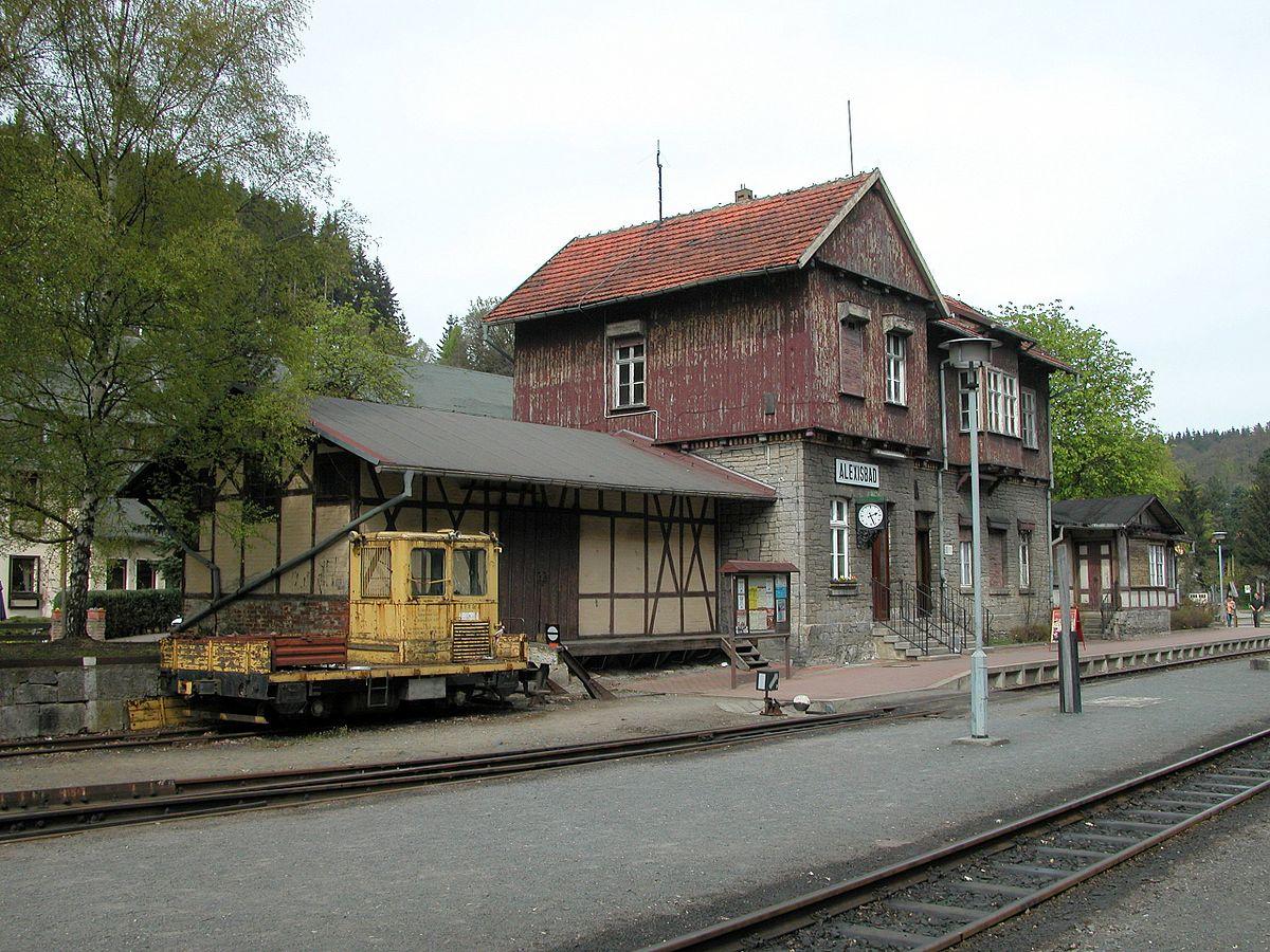 Bahnhof Alexisbad – Wikipedia