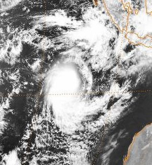 1998–99 Australian region cyclone season - Image: Alison 9 November 1998