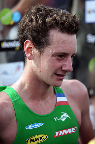 2011 ITU World Championship Series - Alistair Brownlee won Madrid for the third year in a row.