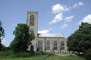 English: All Saints, Swanton Morley, Norfolk