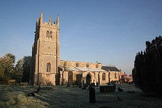 Beckingham, Lincolnshire - Image: All Saints' church, Beckingham, Lincs. geograph.org.uk 81083