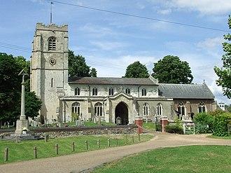 Barrington, Cambridgeshire - Image: All Saints Barrington geograph.org.uk 870006