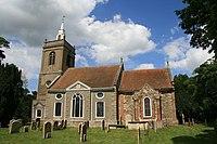 All Saints church North Runcton Norfolk (524262245).jpg