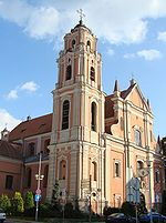 Catholic Church of All Saints, Vilnius, Lithuania