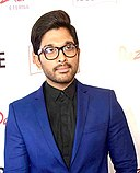 Allu Arjun at 62nd Filmfare awards south.jpg