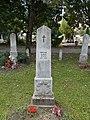Alsovaros Cemetery, World War I Military Cemetery, hussar, 2016 Szekszard.jpg