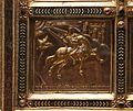 Altare di s. ambrogio, 824-859 ca., retro di vuolvino, storie di sant'ambrogio 13 Ambrogio richiamato a Milano dall'angelo.jpg