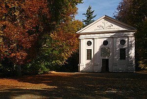 Altzella Abbey - Mausoleum with the tombs of the Wettins