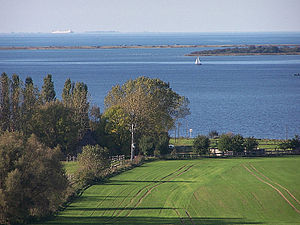 Bay of Mecklenburg - View of the Bay of Mecklenburg from Salzhaff in the direction of Fehmarn.