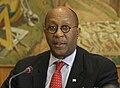 Ambassador Kirk, Press Conference at the WTO.jpg