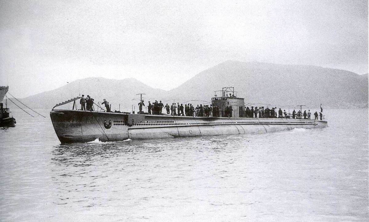 Italian Submarine Ambra