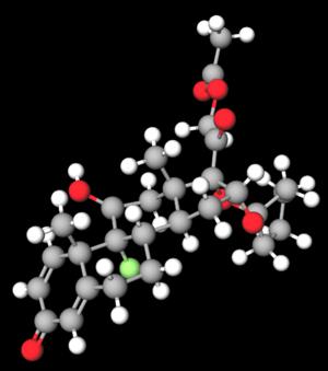 Amcinonide - Image: Amcinonide 3D