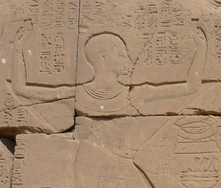 ancient Egyptian High Priest of Amun