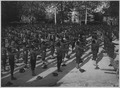 American Negro cantonment behind the lines on the Marne Front, France. Vigorous exercises before go . . . - NARA - 533502.tif