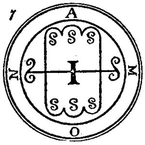 Aamon - The sigil of Amon