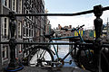 Amsterdam archirectural patterns across canals., Netherlands, Northern Europe.jpg