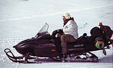 An Alpinist With His Snowmobile.jpg
