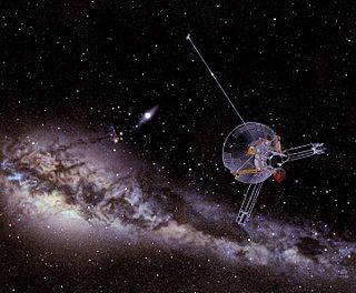 <i>Pioneer 11</i> robotic space probe launched by NASA for planetary and heliosphere exploration