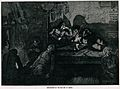 An opium den in London's East End with smokers lying on wood Wellcome V0019253.jpg