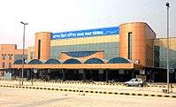 Vchod do stanice Anand Vihar