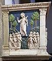 Andrea della robbia, pulpito di santa fiora, 01 ascensione.jpg