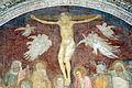 Andrea orcagna e aiuti, cappella dell'annunciazione, 1340-47, 10 crocifissione.JPG