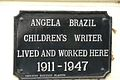 Angela Brazil black plaque Coventry 02.jpg