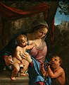 Angelo Caroselli - Madonna and Child with the Infant St John the Baptist.jpg