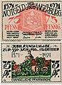 Angerburg (Węgorzewo) - 75Pf., 1921.jpg