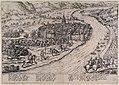 Angriff auf Unkel in 1583 - Aanval op Onckel (Frans Hogenberg).jpg