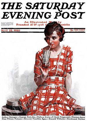 Anita Parkhurst Willcox - Saturday Evening Post cover, by Anita Parkhurst (Willcox) 1921