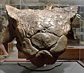 Ankylosaur head - cast - Custer County Montana - Museum of the Rockies - 2013-07-08.jpg