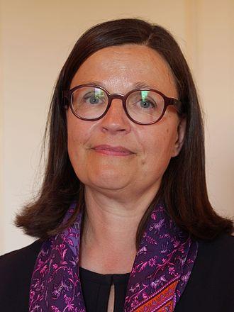 Minister for Education (Sweden) - Image: Anna ekstrom.riksmotet 2016 16d 759.1810570