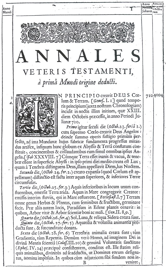 Image result for archbishop ussher of armagh - Epistle to the Reader in English