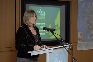 Scottish Gaelic - Anne Lorne Gillies speaking publicly in the Scottish Gaelic language.