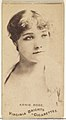 Annie Robe, from the Actors and Actresses series (N45, Type 1) for Virginia Brights Cigarettes MET DP829898.jpg