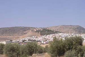 View of Antequera (Andalucia, Spain) from the ...