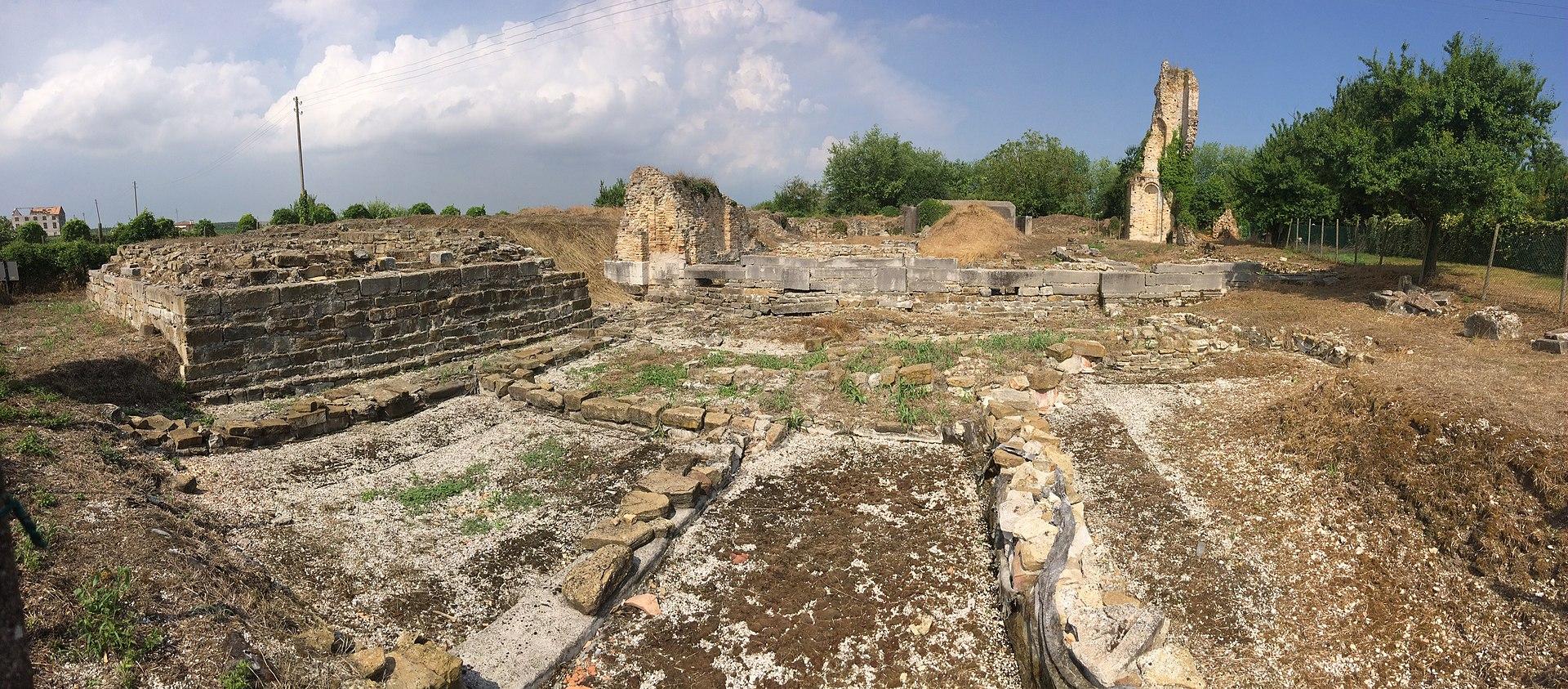 Resti della cattedrale di Santa Maria a Jesolo