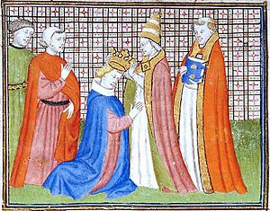 Antipope Nicholas V - Antipope Nicholas V crowns Louis IV the Bavarian; 12th May 1328