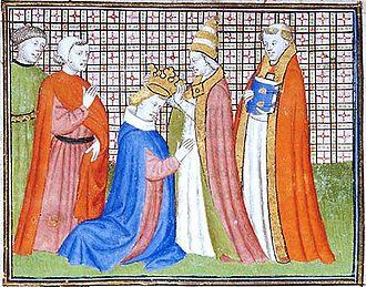 Antipope Nicholas V - Antipope Nicholas V crowns Louis IV the Bavarian; 12th May 1328