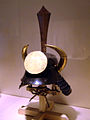 Antique samurai zunari style kabuto (helmet) with varoius crests.jpg