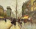 Antoine Bourlard - Paris street scene.Jpeg