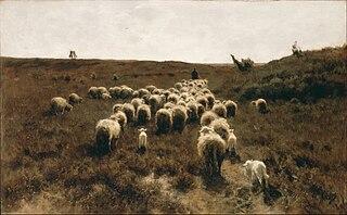 Le Retour du troupeau, Laren