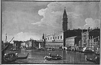 Antonio Canaletto (Canal) (Nachahmer) - Riva degli Schiavoni mit Dogenpalast - 6106 - Bavarian State Painting Collections.jpg