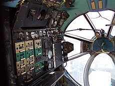 Antonow An-22 Navigator Cockpit 2